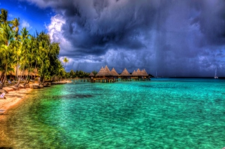 Bora Bora Beach In Paynes Bay Wallpaper for Android, iPhone and iPad