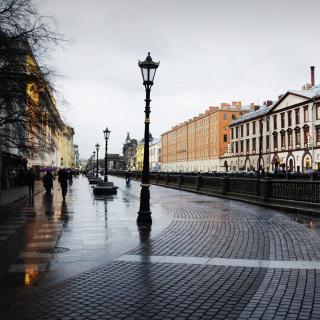Nevsky Prospect in St  Petersburg - Obrázkek zdarma pro 2048x2048
