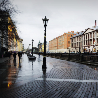 Nevsky Prospect in St  Petersburg - Obrázkek zdarma pro iPad Air
