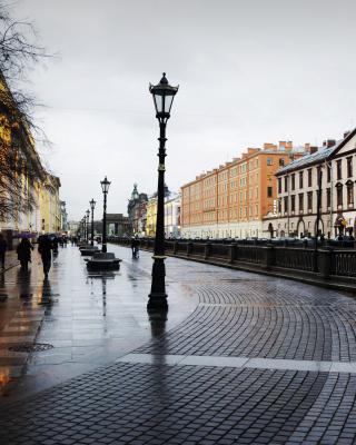 Nevsky Prospect in St  Petersburg - Obrázkek zdarma pro Nokia Asha 203