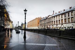 Nevsky Prospect in St  Petersburg - Obrázkek zdarma pro Nokia Asha 302