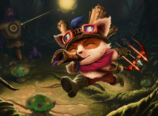 Teemo Wallpaper for Android, iPhone and iPad