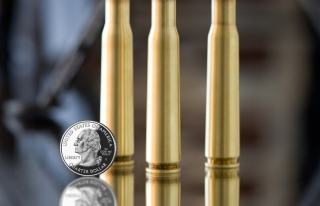 Bullets And Quarter Dollar Picture for Android, iPhone and iPad