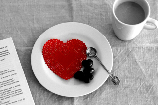 Free Valentine Breakfast Picture for Nokia Asha 200