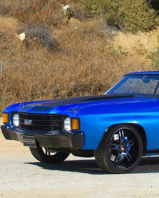 1972 Chevrolet Chevelle SS Coupe - Obrázkek zdarma pro 320x480