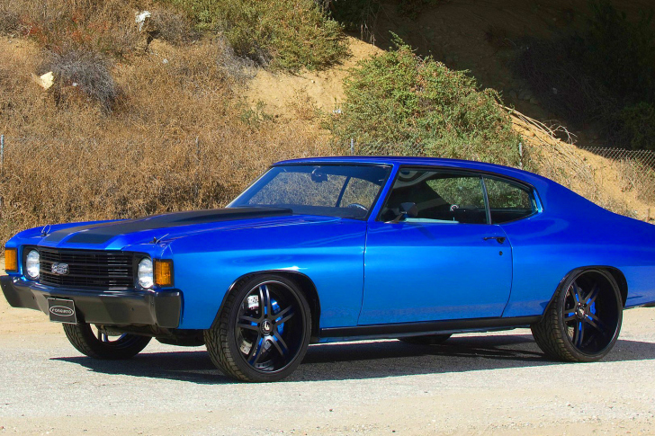 1972 Chevrolet Chevelle SS Coupe wallpaper