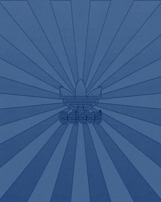 Adidas Blue - Obrázkek zdarma pro iPhone 4