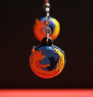 Firefox Key Ring - Obrázkek zdarma pro 320x320