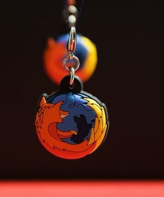 Firefox Key Ring - Obrázkek zdarma pro 320x480