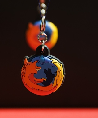 Firefox Key Ring - Obrázkek zdarma pro Nokia Lumia 822