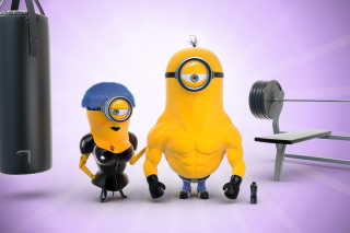 Despicable Me 2 in Gym - Obrázkek zdarma pro Widescreen Desktop PC 1920x1080 Full HD