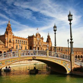 Sevilla - Obrázkek zdarma pro iPad mini