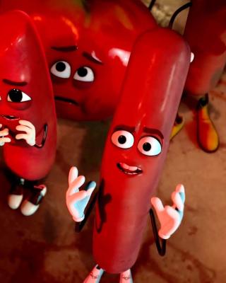 Sausage Party Movie - Obrázkek zdarma pro Nokia Asha 503