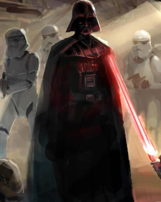 Star Wars Darth Vader - Obrázkek zdarma pro Nokia Asha 303