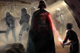 Star Wars Darth Vader - Obrázkek zdarma pro HTC Desire