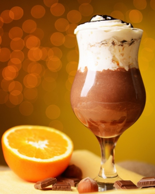 Chocolate cocktail - Obrázkek zdarma pro Nokia Asha 308