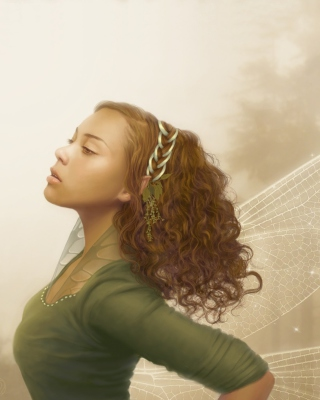 Elf Girl - Obrázkek zdarma pro 360x400