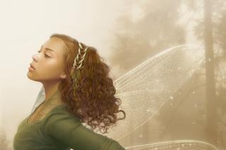 Elf Girl - Obrázkek zdarma pro 1024x768
