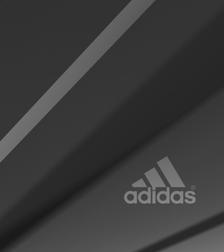 Adidas Grey Logo - Obrázkek zdarma pro iPad 3