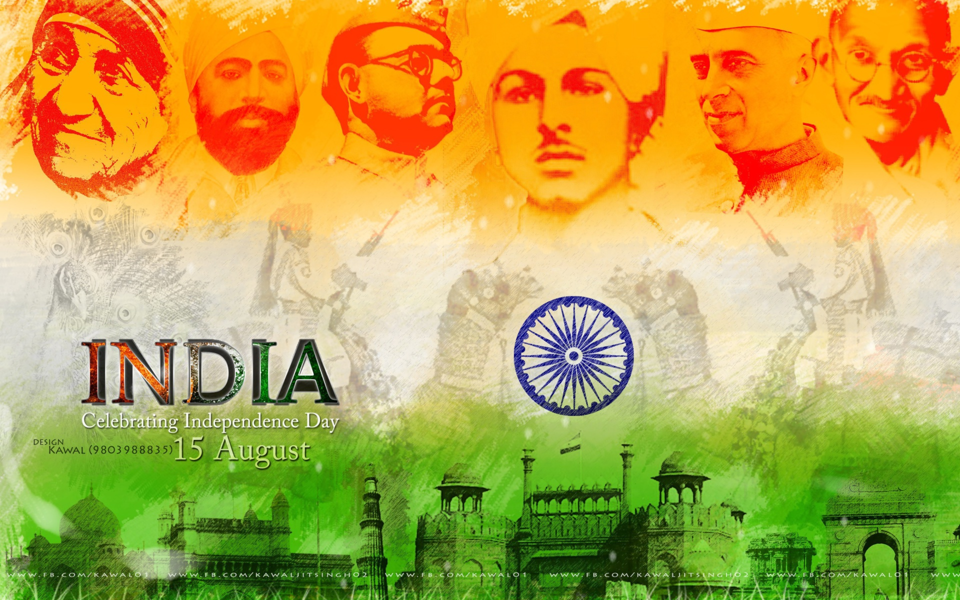15 August Independence Day Hd Wallpaper: Independence Day India 15 August Wallpaper For Widescreen