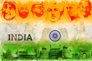 Free Independence Day India 15 August Picture for Android, iPhone and iPad