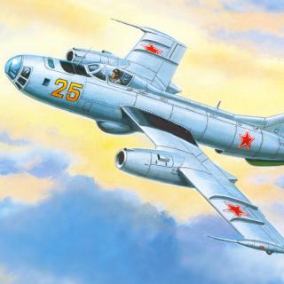 Yakovlev Yak 25 Soviet Union interceptor aircraft - Obrázkek zdarma pro iPad