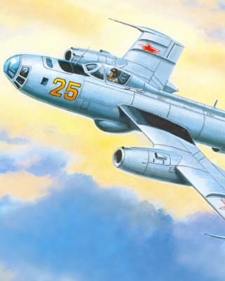 Yakovlev Yak 25 Soviet Union interceptor aircraft - Obrázkek zdarma pro 320x480