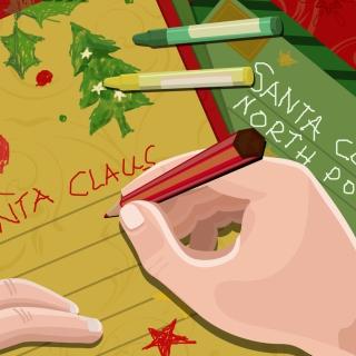 Letter For Santa Claus - Obrázkek zdarma pro 1024x1024