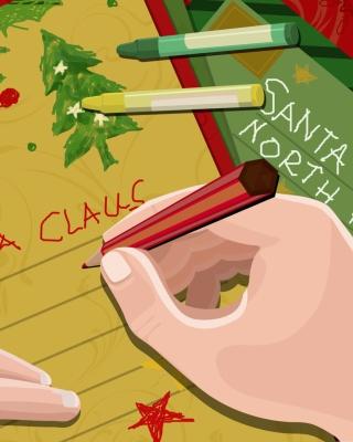 Letter For Santa Claus - Obrázkek zdarma pro iPhone 4S