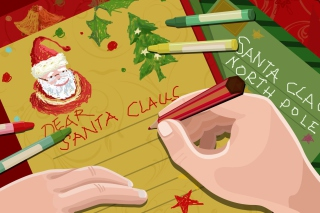 Letter For Santa Claus - Obrázkek zdarma pro Android 1080x960