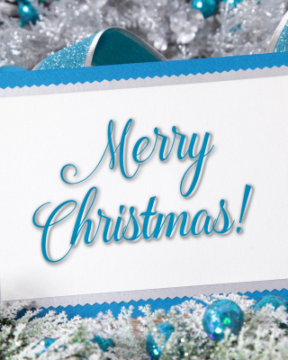 Merry Christmas Card - Obrázkek zdarma pro 750x1334