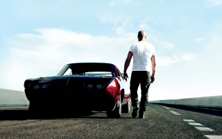 Vin Diesel In Fast & Furious 6 Background for Android, iPhone and iPad