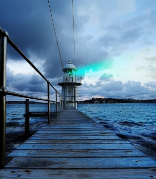 Lighthouse in Denmark - Obrázkek zdarma pro Nokia C-Series