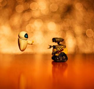 Wall E And Eve - Obrázkek zdarma pro 2048x2048