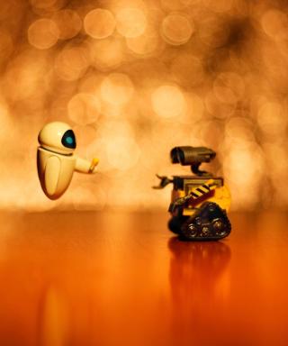 Wall E And Eve - Obrázkek zdarma pro Nokia Asha 502