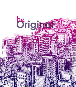 Be Original - Obrázkek zdarma pro Nokia C5-05