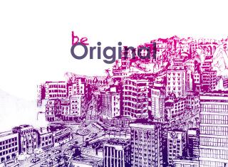 Be Original - Obrázkek zdarma pro Nokia Asha 200