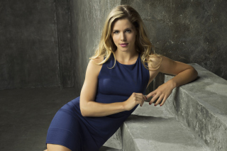 Emily Bett Rickards as Felicity Smoak in TV series Arrow - Obrázkek zdarma pro 1600x900