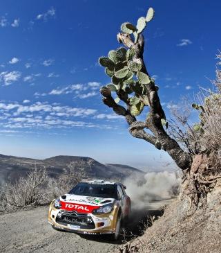Citroen, DS3, Rally - Obrázkek zdarma pro 480x640