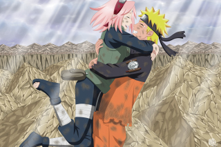 Free Uzumaki Naruto And Sakura Picture for Android, iPhone and iPad