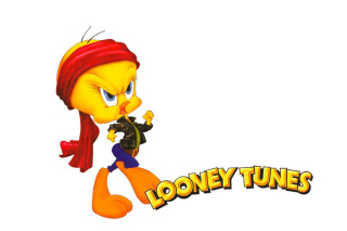 Tweety Looney Tunes Background for Sony Ericsson XPERIA X8