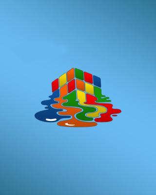 Rubiks cube puzzle - Obrázkek zdarma pro Nokia X7