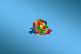 Rubiks cube puzzle Picture for Android, iPhone and iPad
