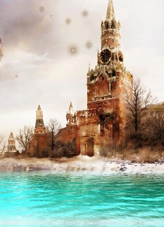 Moscow Art - Obrázkek zdarma pro 640x960