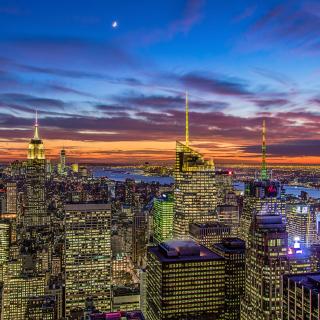 New York, Empire State Building - Obrázkek zdarma pro 208x208