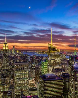 New York, Empire State Building - Obrázkek zdarma pro Nokia C3-01 Gold Edition