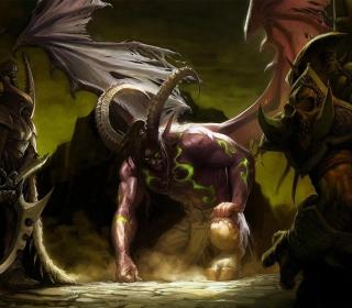 Illidan Stormrage - World of Warcraft - Obrázkek zdarma pro 208x208