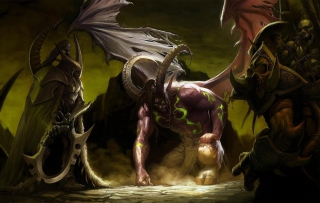 Illidan Stormrage - World of Warcraft - Obrázkek zdarma pro Desktop Netbook 1366x768 HD