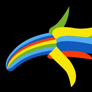 Peeled Banana Clipart - Obrázkek zdarma pro 2048x2048