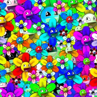 Bright flowers smiles - Obrázkek zdarma pro iPad mini